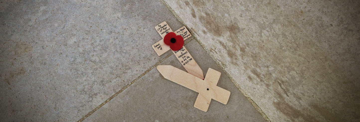 Poppy Crosses - WW1