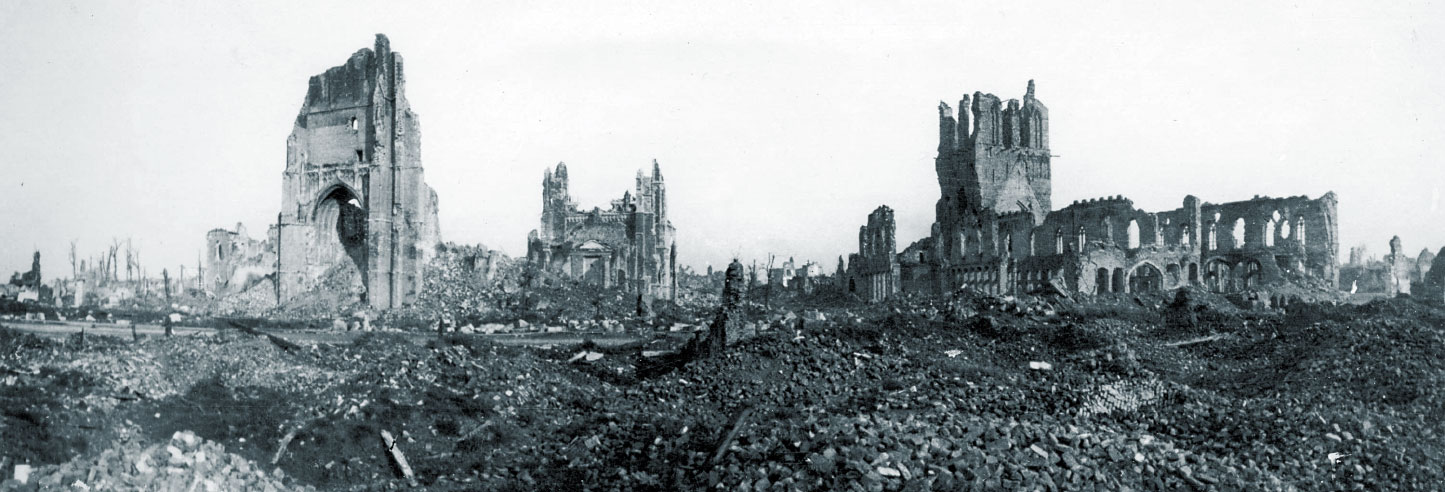 Archive Ypres in Ruins - WW1